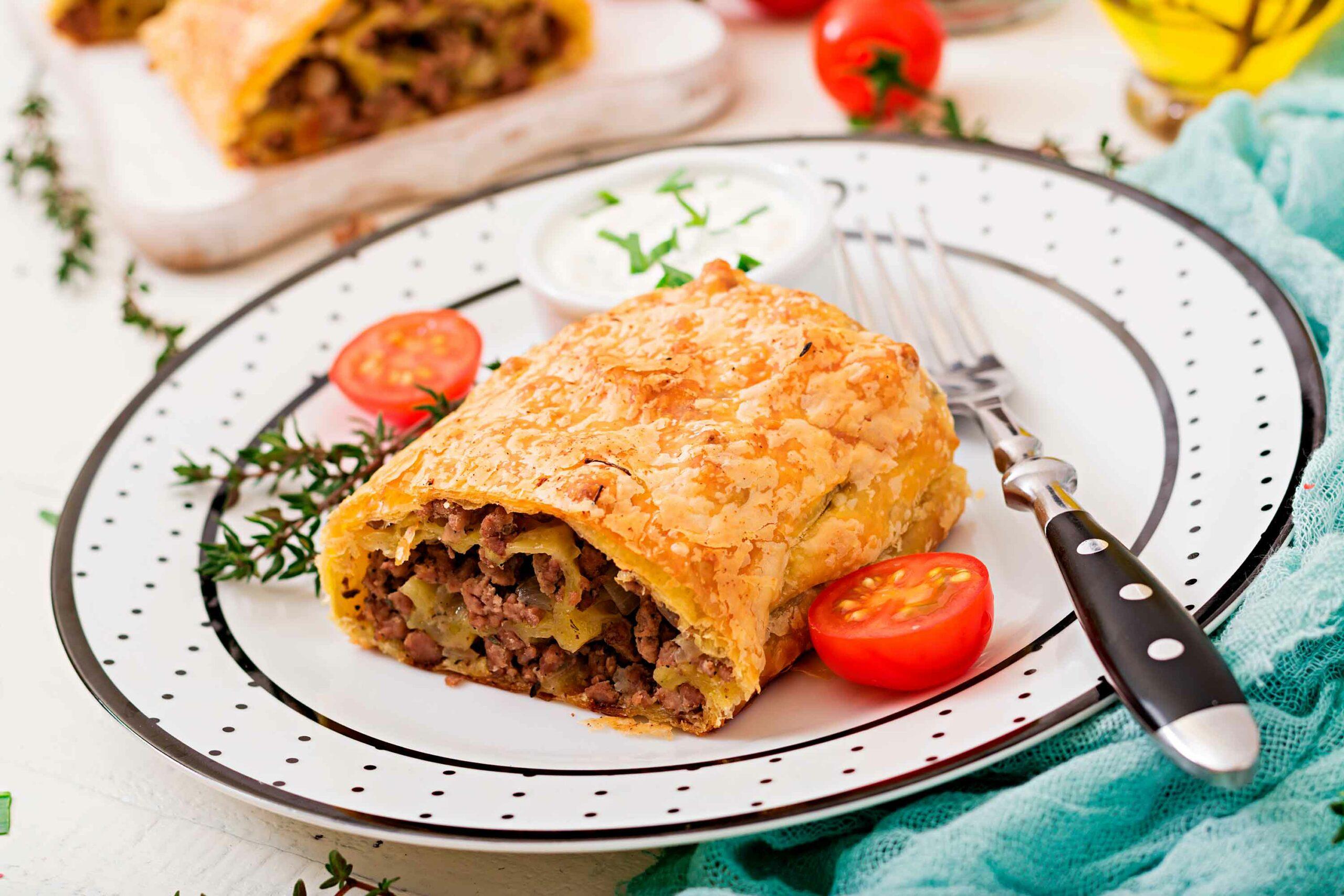 recipe beef strudel
